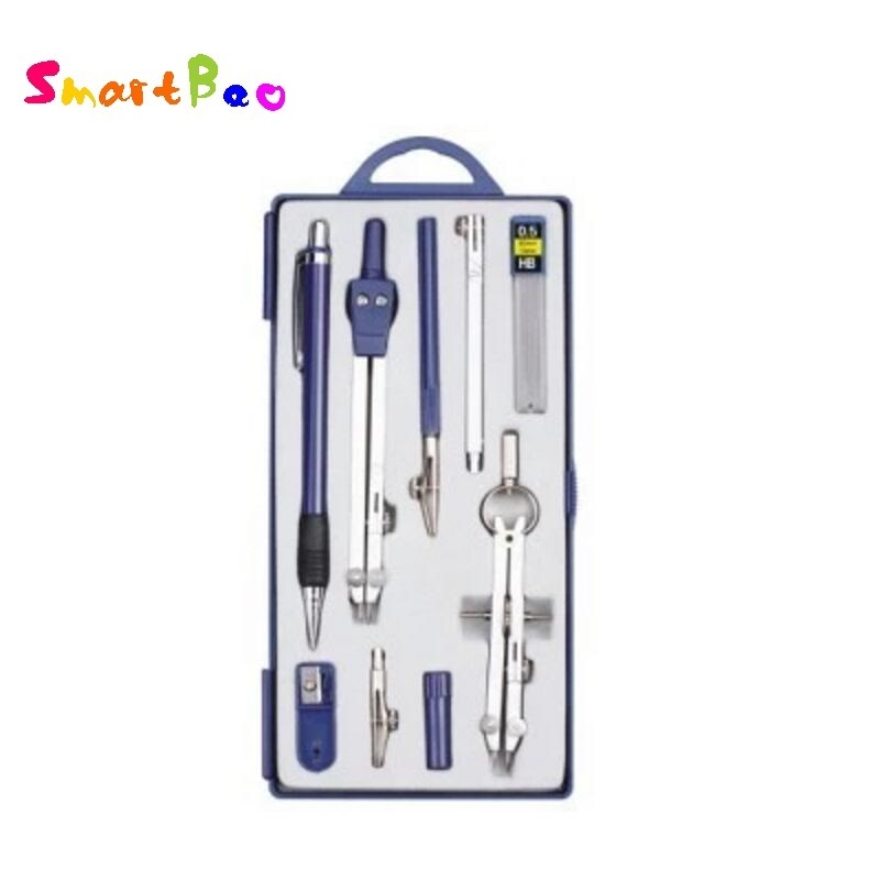 School Compasses Professional Compasses Set Student Technical Drawing Instrument Examination Tools With Pencil