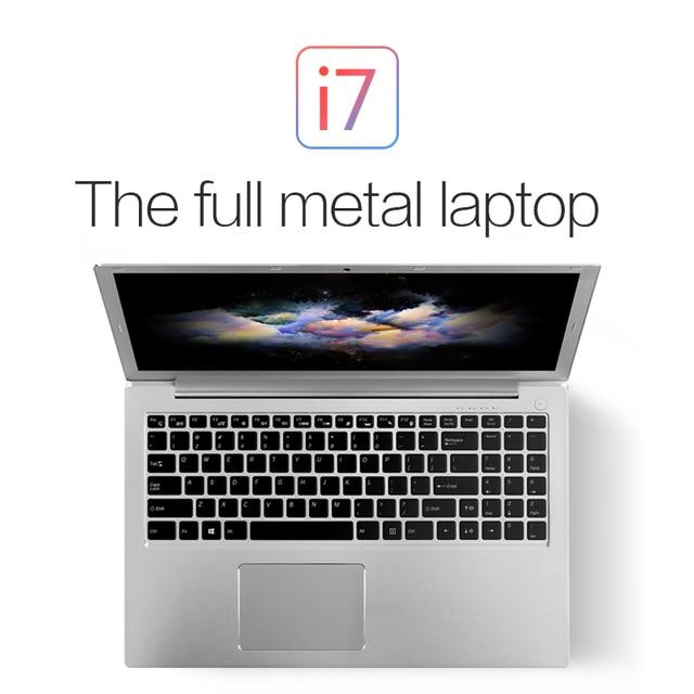 "16G RAM 1TB SSD Kingdel 15.6"" Laptop i7 8550U with Backlit keyboard windows 10 type-c DDR4 Netbook bluetooth SD 48.8WH/ 3.7V"