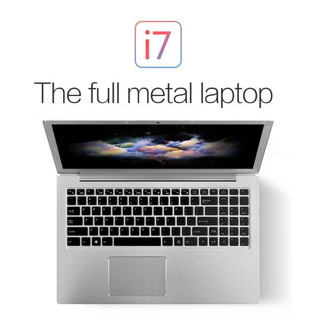 "16G RAM 1TB SSD VOYO 15.6"" 2G Dedicated Card Laptop i7 6500U with Backlit keyboard windows 10 license type-c Netbook bluetooth"