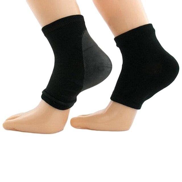 2 adet/PairMoisture kırık topuk çorap silikon jel çorap topuk koruma kollu nemlendirici topuk ağrısı yastık ayak bileği çorap
