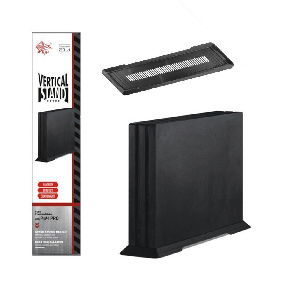 Simple Design Console Vertical Stand Mount Dock Holder Dock Mount Cradle For PS4 Game Holder Accessories Black