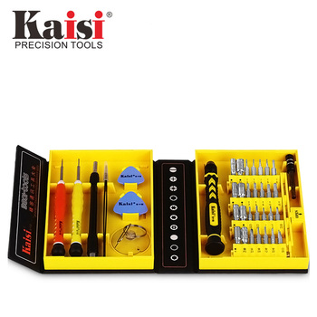 Kaisi الدقة 38 في 1 مفك مجموعة متعددة الوظائف الهاتف افتتاح أداة إصلاح مناسب لأجهزة iPhone/الهاتف/الكمبيوتر المحمول/ PC