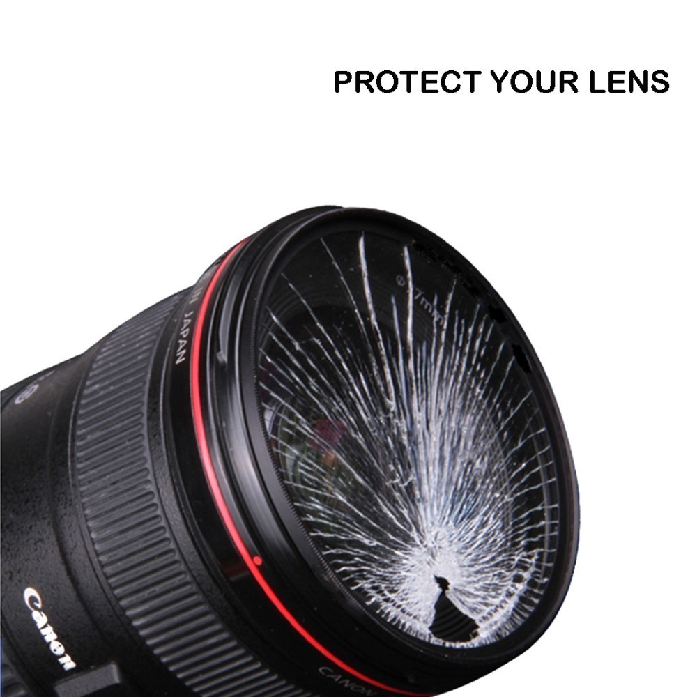 72 BAODELI Dslr Filtro MCUV Lens Filter 37 40.5 43 46 49mm 52 55 58mm 62 72 77mm 82 mm For Nikon D3500 Camera Canon M50 Sony A6000 (4)
