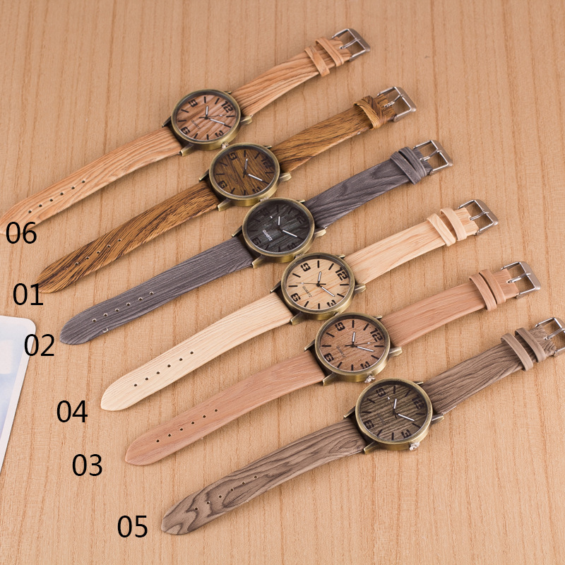 superior gift new fashion from wristwatch women item wood men grain s vintage quartz watch feminino watches on in for relogio