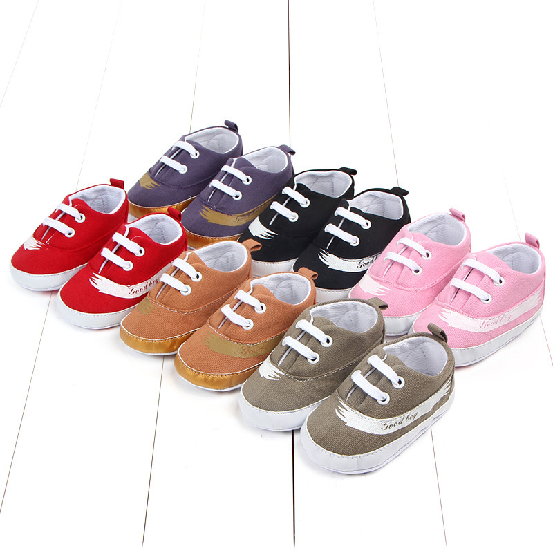 Multicolor Baby Canvas Shoe Baby Soft Bottom Study Walking Shoes Baby Shoe 0999