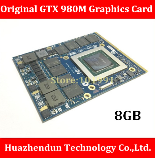 Original GTX 980M  8G MXM SLI N16E-GX-A1 video card for laptop / notebook   nVidia GeForce GTX 980M  Free Shipping via DHL xilinx fpga development board xilinx spartan 3e xc3s250e evaluation kit xc3s250e core kit open3s250e standard from waveshare