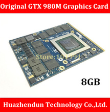 Original GTX 980M  8G MXM SLI N16E-GX-A1 video card for laptop / notebook   nVidia GeForce GTX 980M  Free Shipping via DHL/EMS