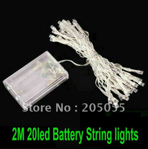 2M 20 LED Battery String Fairy light For Christmas Party wedding Garden Yard Camping Lights ...