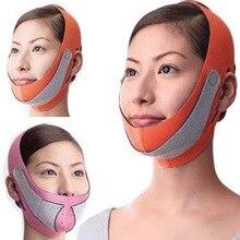 Горячая 3D подбородок щек тонкая подтягивающая маска против морщин ремень полоса V линия лица пояс для женщин для похудения обёрточная бумага для лица инструмент для красоты SFC019