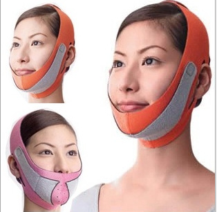 Hot 3D Chin Cheek Slim Lift Up Anti Wrinkle Mask Strap Band V Face Line Belt Women Slimming Facial  Wrap Beauty Tool SFC019