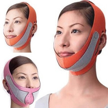 Hot 3D Chin Cheek Slim Lift Up Anti Wrinkle Mask Strap Band V Face Line Belt Women