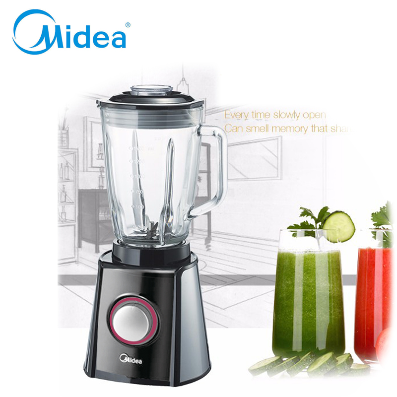 Midea Fashion blender 220v Heavy duty Commercial Blender Mixer juicer High power Food processor fruit electric Blender EU plug commercial blender mixer juicer power food processor smoothie bar fruit electric blender ice crusher