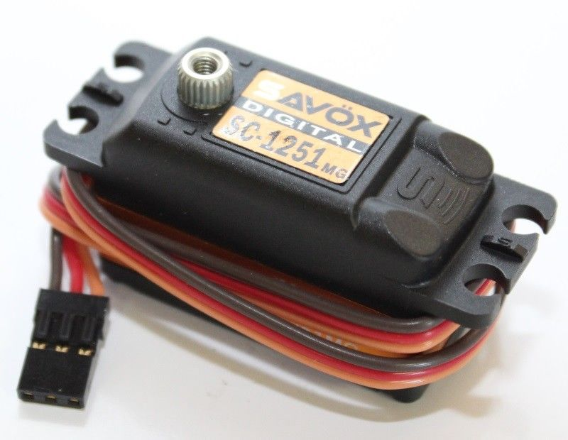 SAVOX SC-1251MG Low Profile High Speed Metal Gear Digital Servo 9.0Kg@6V 1:8 1:10 RC Car Airplane цена