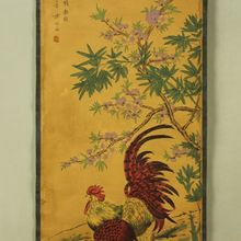 China Antique collection Calligraphy and painting Big cock diagram