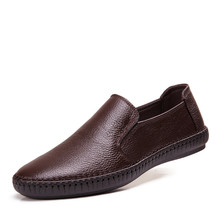 Men Shoes Casual 2016 New Summer Driving Moccasins Mens Slip-On Shoes Boat Loafers Leather Shoes