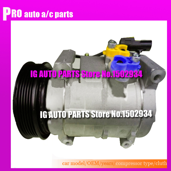 Car AC Compressor For Car Chrysler Voyager 2002 2003 2004 2005 447220 4982 447180 4944 447220 4981 5005420AD5005420AA 5005420AC