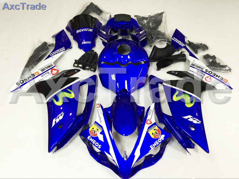 Motorcycle Fairings Kits For Yamaha YZF1000 YZF 1000 R1 YZF-R1 2007 2008 07 08 ABS Injection Fairing Bodywork Kit Blue A849 high quality motorcycle injection mold factory fairings kit for yamaha yzfr1 2007 2008 yzf r1 07 08 white red body fairing parts