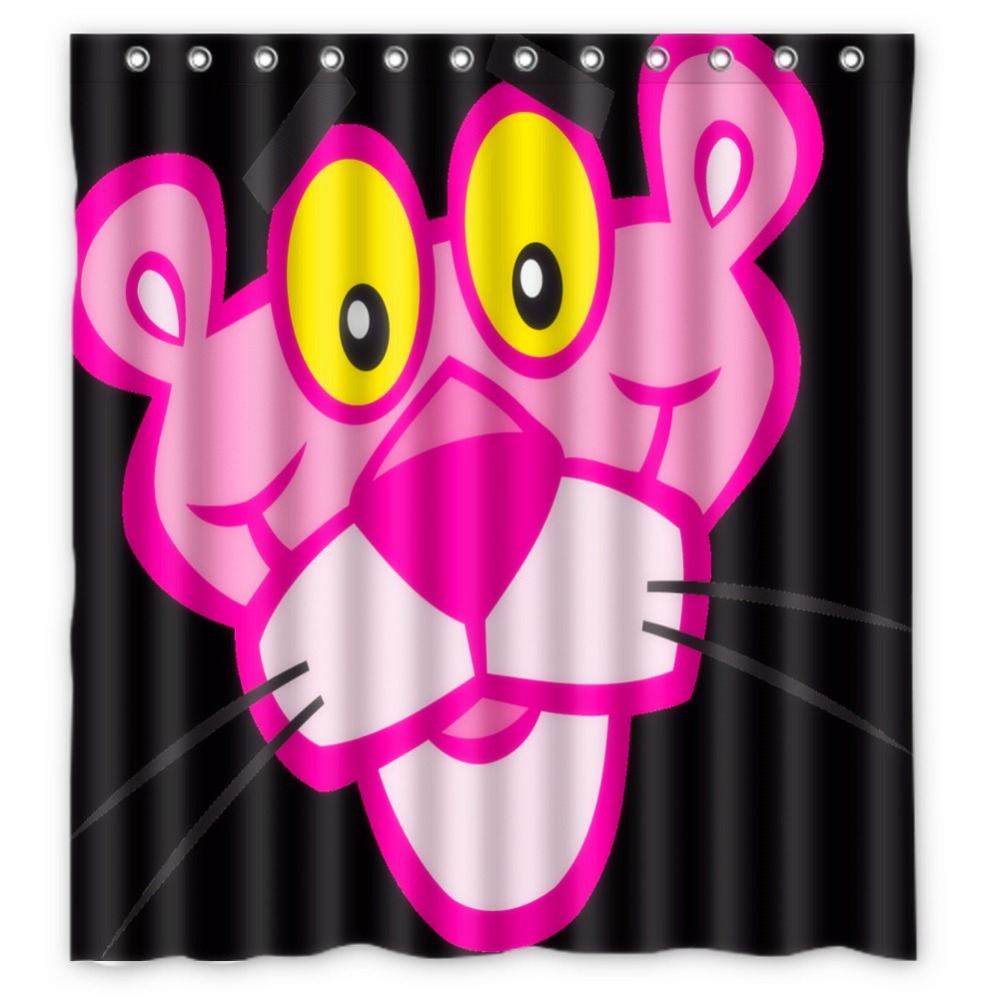 Fairy shower curtain - Anime Shower Curtain One Piece Bleach Fairy Tail Naruto Together The The Pink Panther Shower Curtain 66x72 Inch