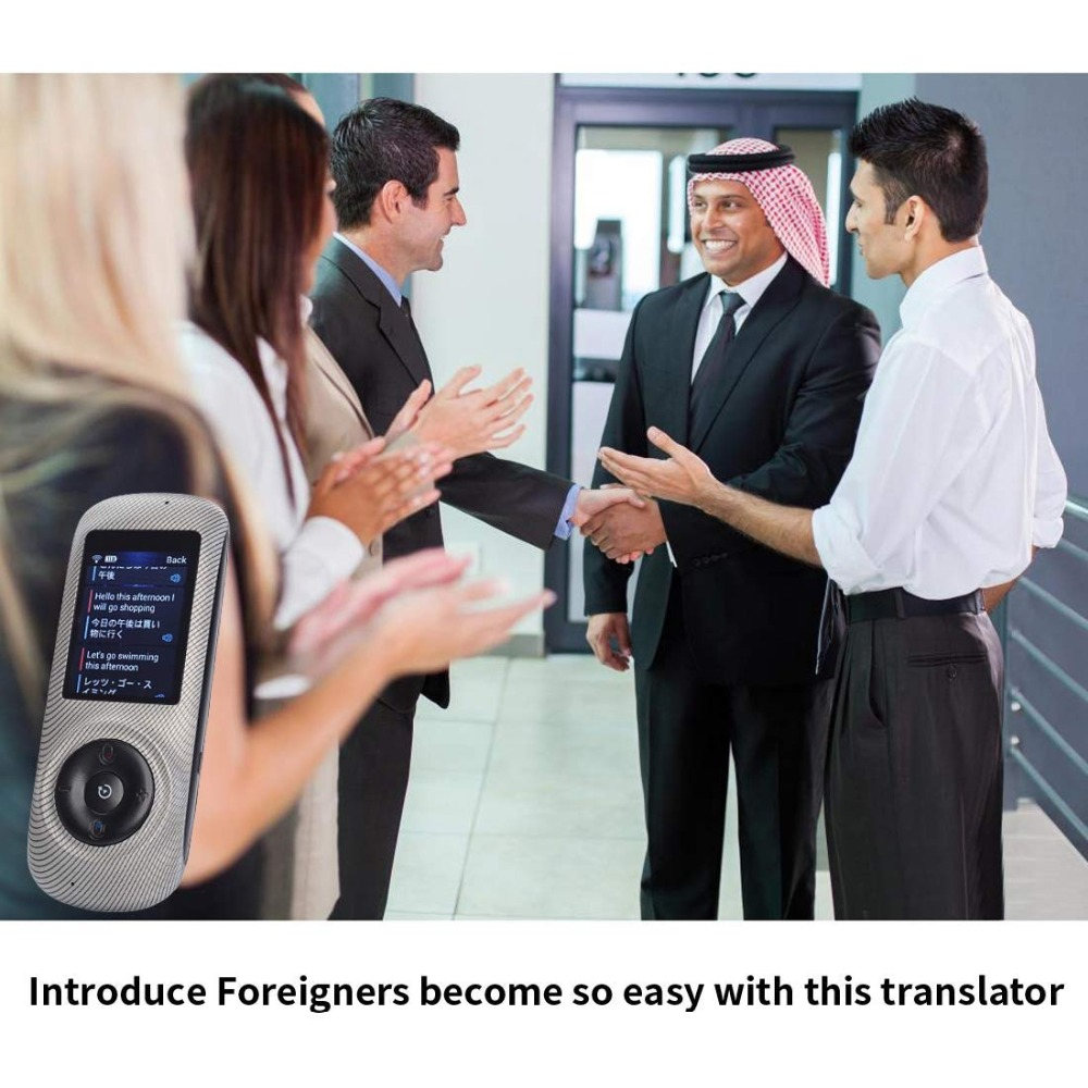 Instant Voice Translator Device Translation 45 Languages