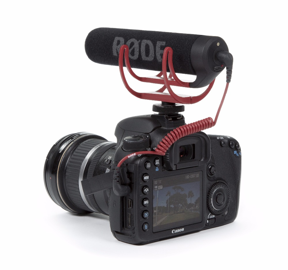 Rode VideoMic GO On-Camera Shotgun Microphone for Canon Nikon Sony DSLR DV Camcorder for Digital Camera