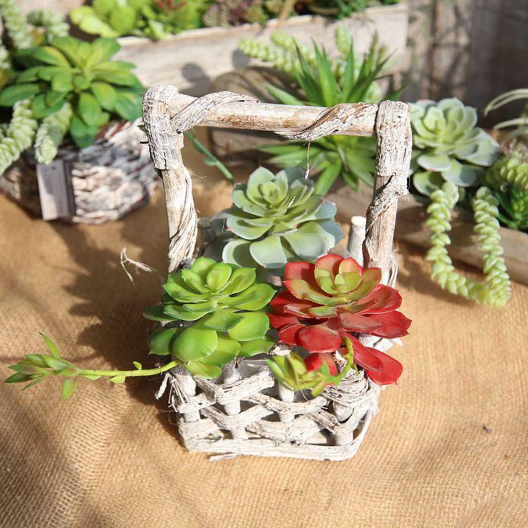 Sztuczne rośliny fałszywy aloes sztuczny sukulent/kaktus krajobraz kwiat lotosu DIY sztuczny kwiat kreatywne akcesoria DIY
