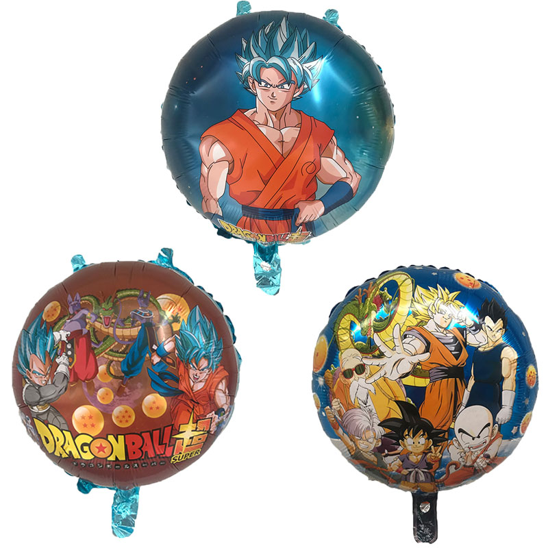 1PC 18 inch round Dragon Ball Story Goku balloon Helium