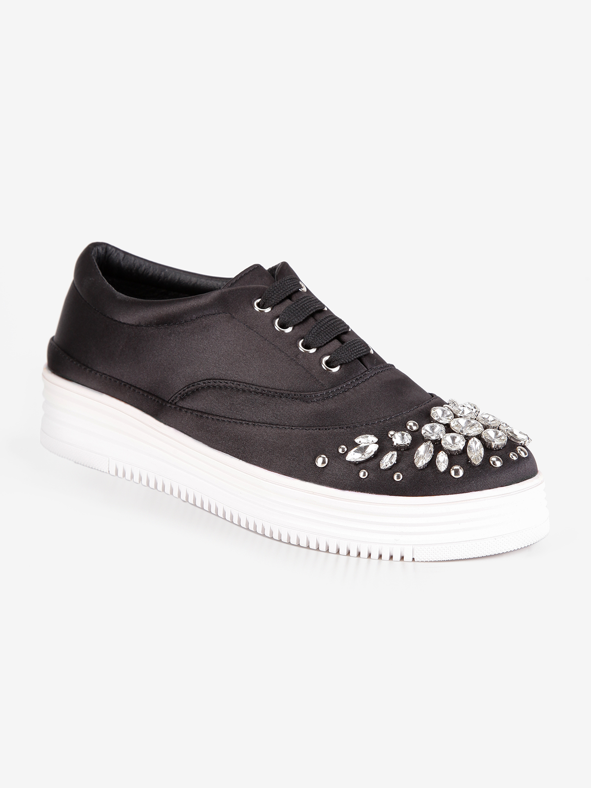 SWEET Sneakers Shoes With Rhinestones And Studs