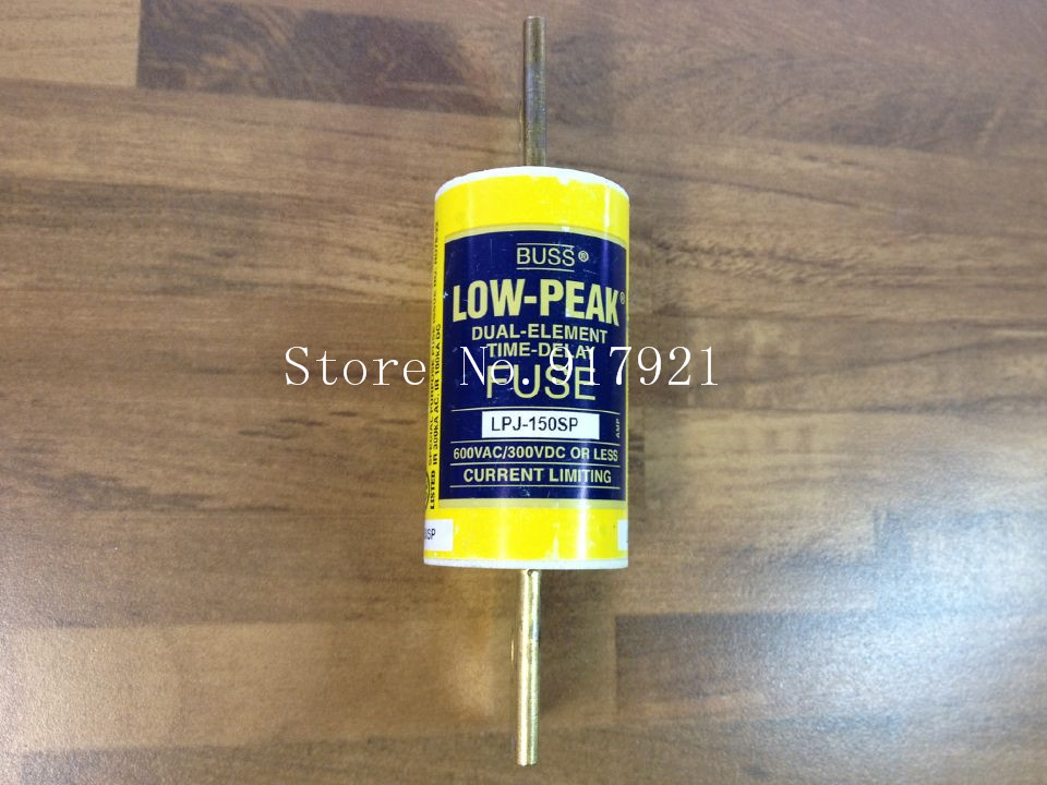 [ZOB] The United States Bussmann LPJ-150P BUSS fuse 600V genuine original