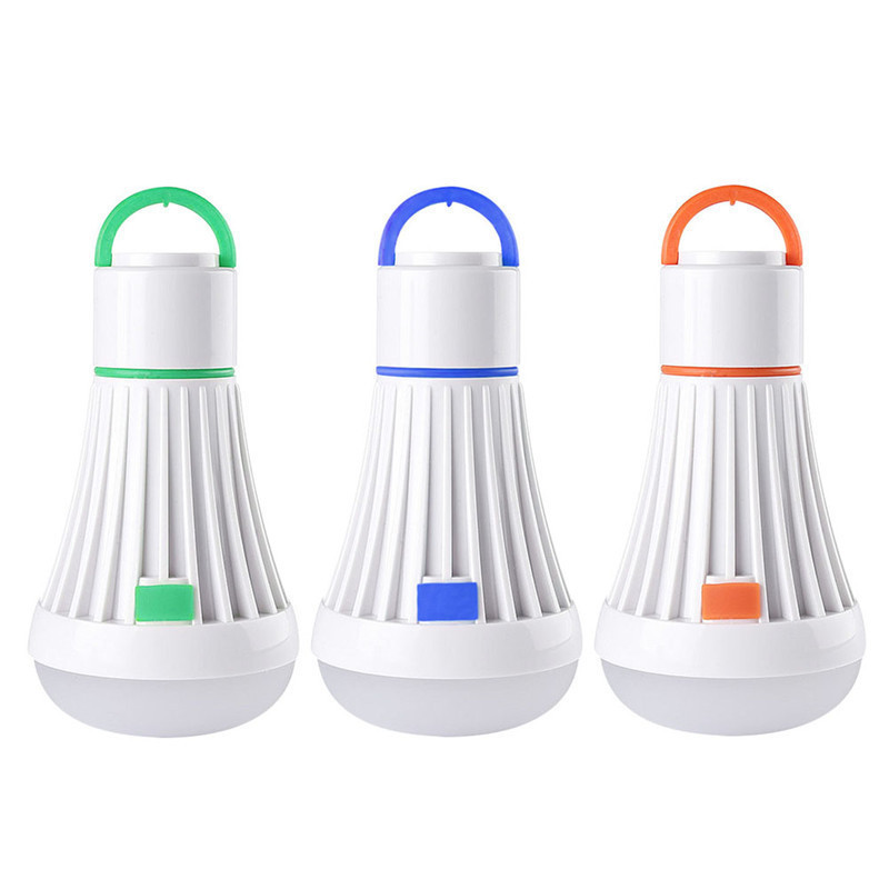 LED Camping Light Portable LED Tent Lantern for Backpacking Camping Hiking Fishing Emergency Light Powered Lamp Bulb Flashlight