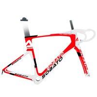 Sobato Carbon road bike frame with disc brake, racing frame carbon road frame