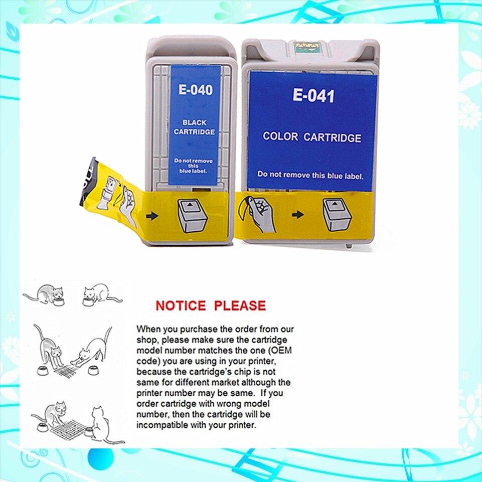 Kompatible tintenpatrone für epson t040 t041 für epson stylus cx3200/c62