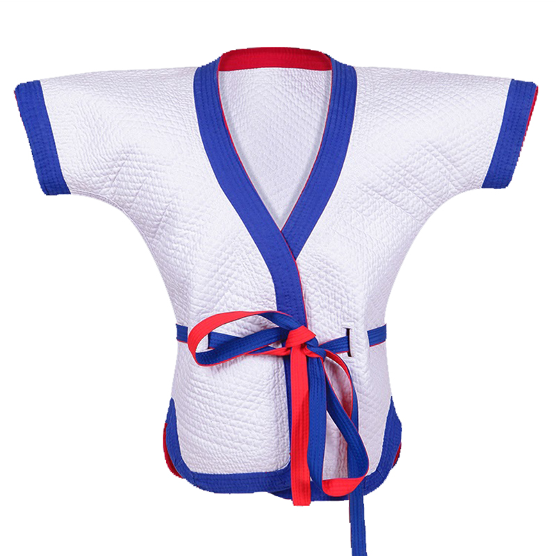 Wrestling Uniform Cotton Suit Top Clothes Pants Costume Sportswear for Taichi Judo Taekwondo Competition Training