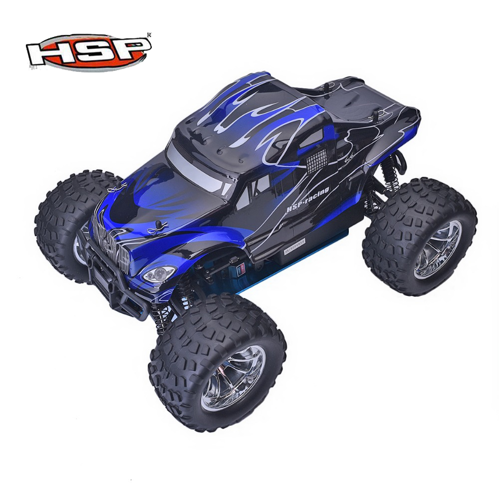 HSP 94188 Rc Racing Car 1/10 Scale Nitro Power 4wd Off Road Monster Truck Pivot Ball Suspension Two Speed Remote Control Car sst racing expedition xmt 1 10 scale go 3 3cc nitro engine power 4wd off road monster truck high speed rc car for hobby