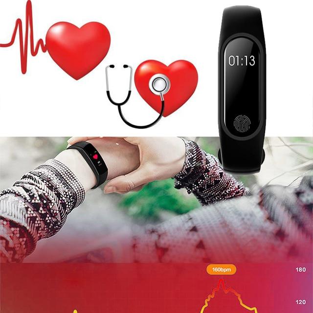 Sport Bracelet Smart Watch Men Women Smartwatch For Android IOS Fitness Tracker Electronics Smart Clock Band Smartband Smartwach 4