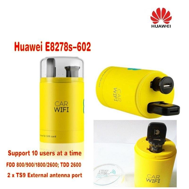 Unlocked Huawei E8278s-602 USB 3G WIFI TDD/FDD LTE 4G WI-FI Modem Router 150Mbps huawei e5578 lte mobile wifi modem router 4g lte fdd 1800 2100mhz tdd 2300mhz
