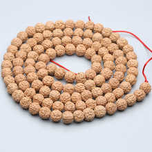 TSB0531 Real Nepal Five Facets Rudraksh Bodhi Seeds Beads 108 beads strand 8/9/10/11/12mm Good Quality(China)