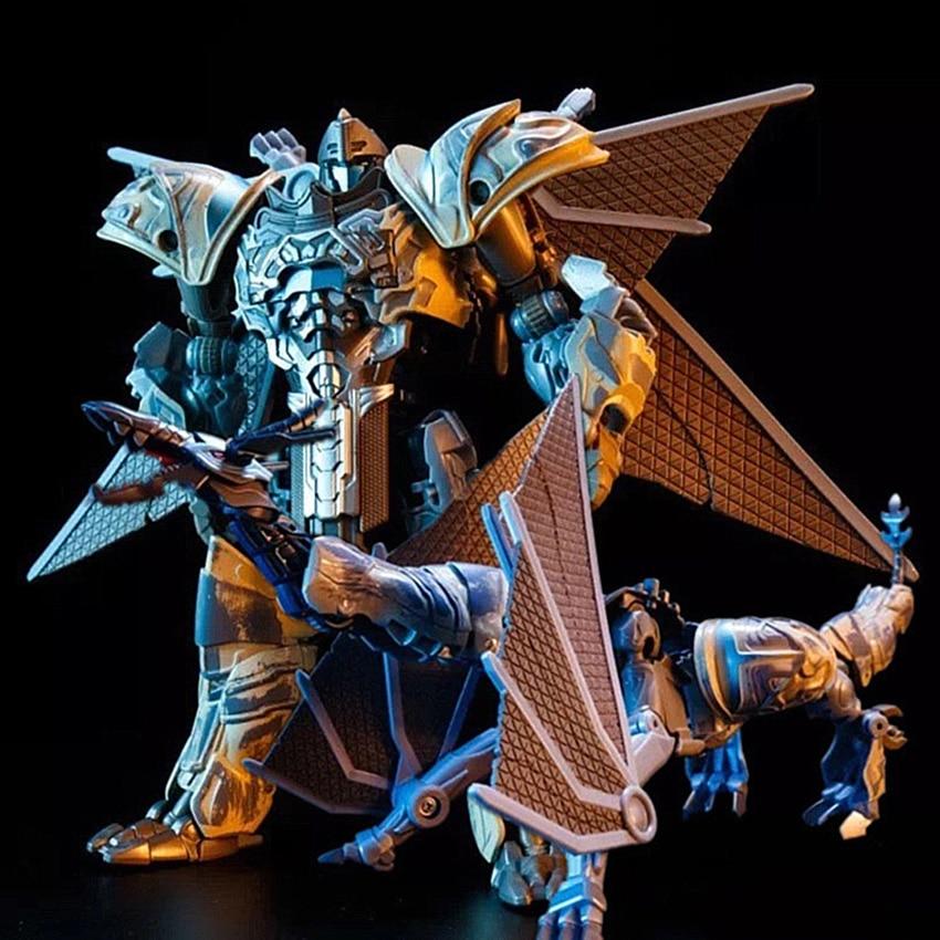 Deformation Pterosaur Dinosaur Action Figure Transformation Robots The Last Knight Storm Dragon Toys for Children Dinobot
