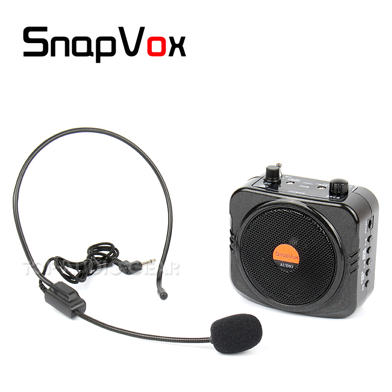 Free Shipping Portable Voice Amplifier Headset Headworn Mic Teaching Speaker Megaphone Teacher Tour Guide Loudspeaker PA System Головная гарнитура