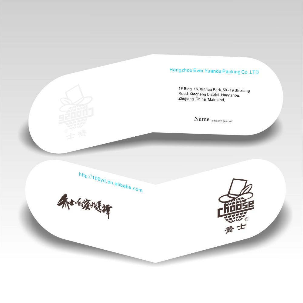 Custom new concise design art paper folding business cards with logo 486 reheart Choice Image