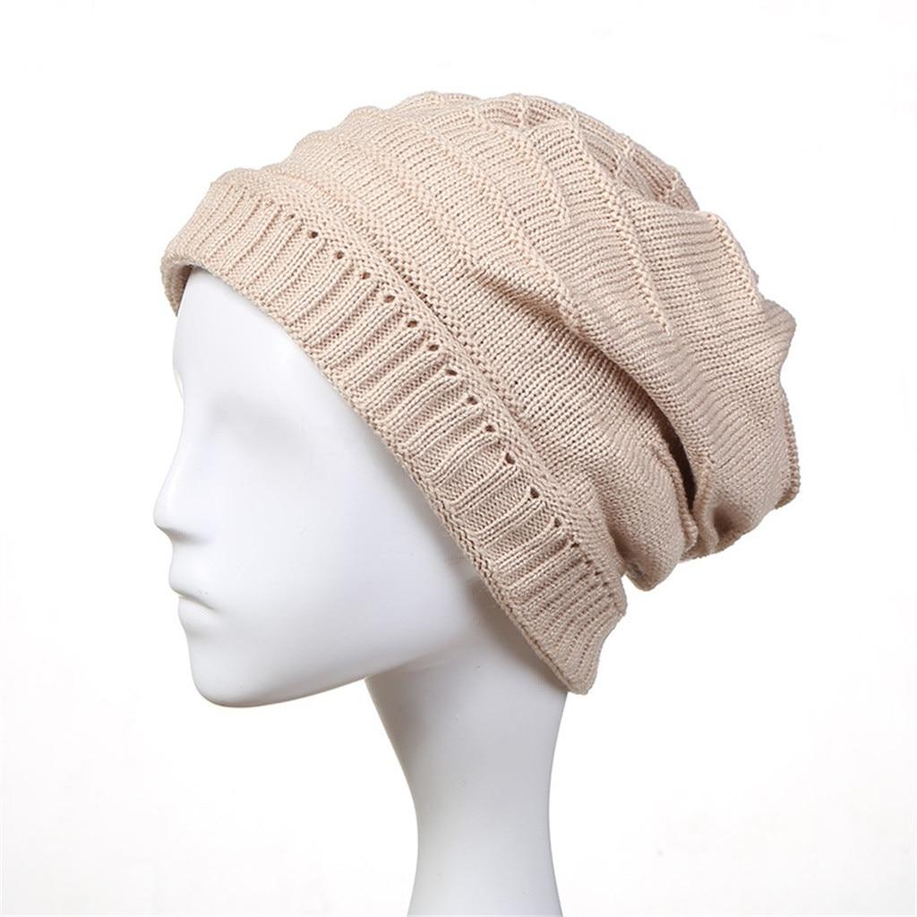 7633b24d13b 2019 JAYCOSIN High Quality Fashion Design Winter Knit Slouchy Beanie ...