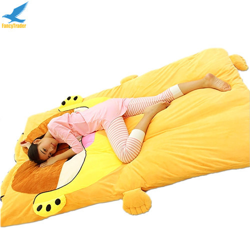 Fancytrader  Anime Garfield Beanbag Soft Giant Plush Cat Bed Carpet Tatami Sofa Sleeping Bed Nice Gift FT90904 (3)