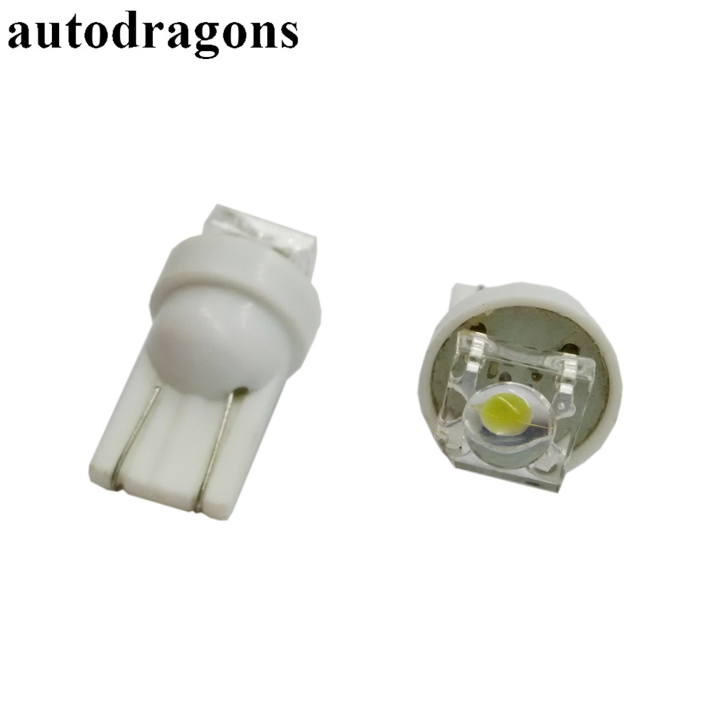 Autodragons 2xhigh Quality Rgb Led T10 Bulb For Parking Lights Lamp Circuit Board50503smd China Car 100 Units Non Ghosting Ac 63v 194 555 W5w Wedge Pinball
