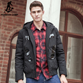 Pioneer Camp 2017 new fashion thick down coat men brand-clothing 90% white duck down jacket men quality male hoodie parkas Wuyou