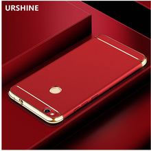 For Huawei Honor 8 Lite Case Bumper Gold Plating 360 Degree Full Protective Cell Phone Cover for Huawei Honor 8 Accessories Capa