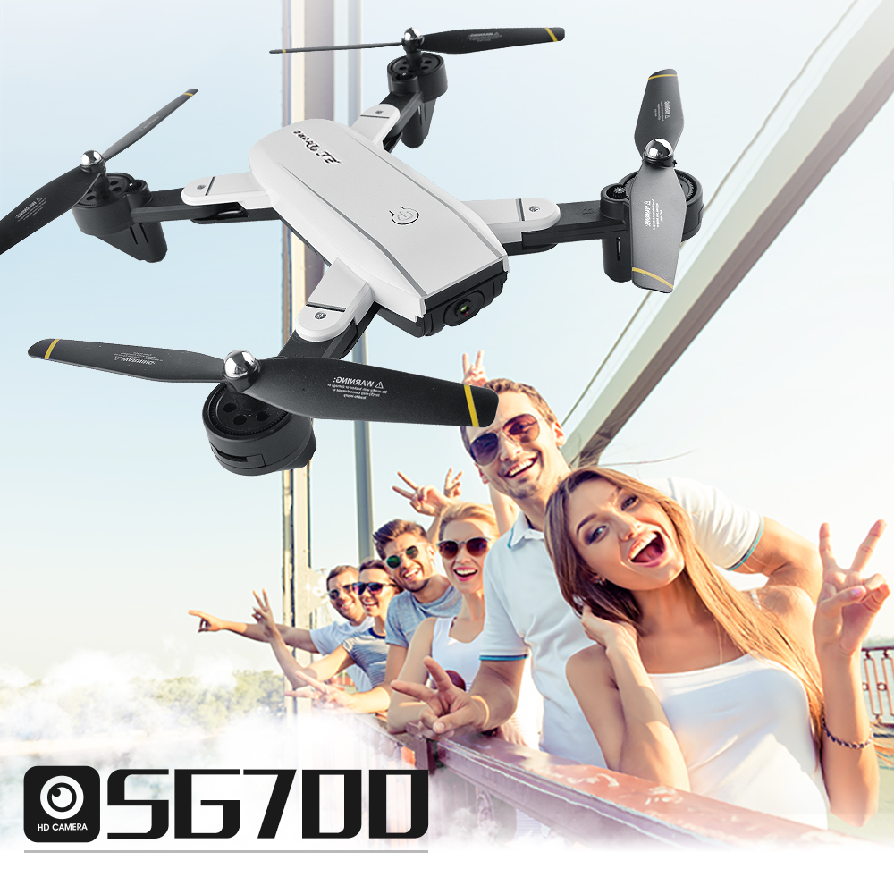 Sg700 Drone RC Pieghevole Selfie Dron Con FPV Wifi Della Macchina Fotografica il Mantenimento di Quota Mini Quadcopter VS YH-19 XS809HW