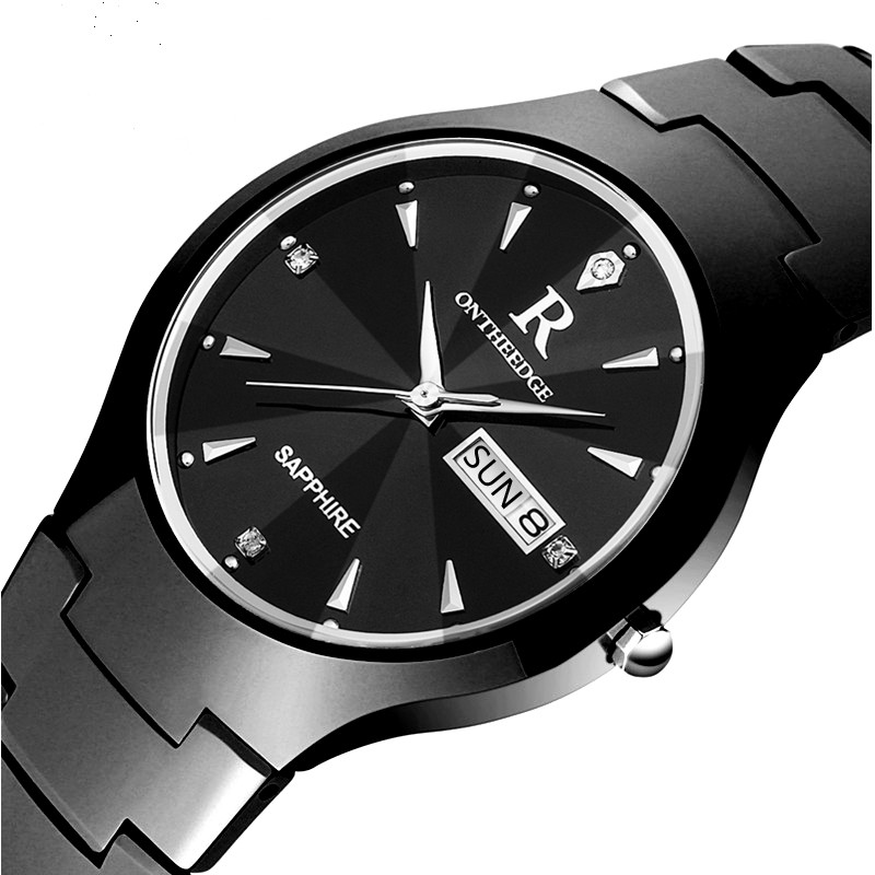 zegarki meskie New Fashion luxury brand crystal date watches men quartz watch stainless steel ultra thin dial waterproof clock nibosi men s watches new luxury brand watch men fashion sports quartz watch stainless steel mesh strap ultra thin dial men clock