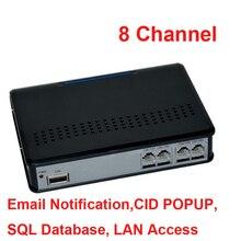 8 ch FTP remote monitor funktion stimme aktiviert USB telefon recorder unternehmen VERWENDEN telefon monitor, USB telefon logger ok W10