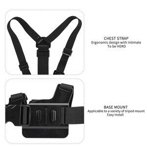 Image 2 - SHOOT нагрудный ремень для крепления на голову для GoPro Hero 9 8 7 5 Black Xiaomi Yi 4K Sjcam M10 Sj8 pro Eken H9 Dji Osmo аксессуары для действий