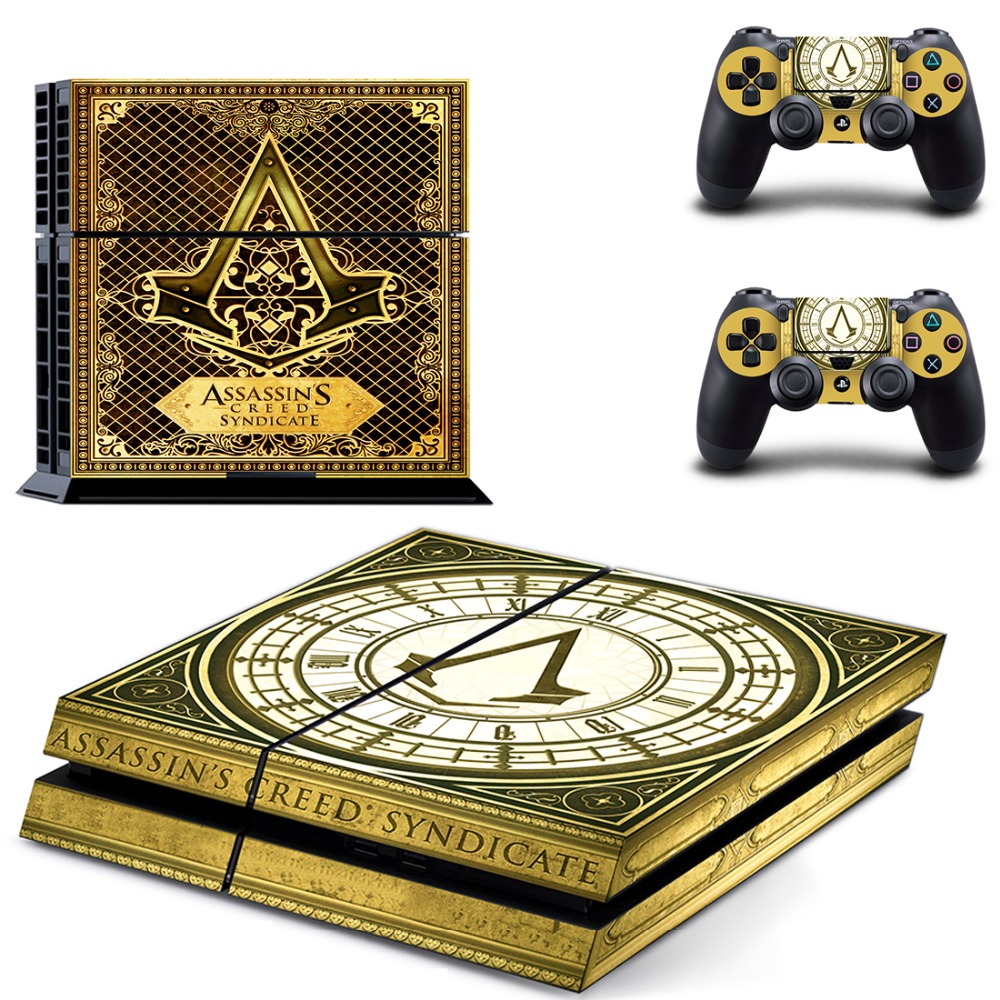 ASSASSIN'S CREED SYNDICATE PS 4  Sticker PS4 Skin for Sony PS4 PlayStation 4 and 2 controller skins