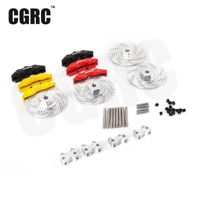 Simulation Aluminum Alloy Brake Disc For 1/10 Rc Crawler Car Traxxas Trx4 стиральная машина lg f12b8qd5 rus серебристый
